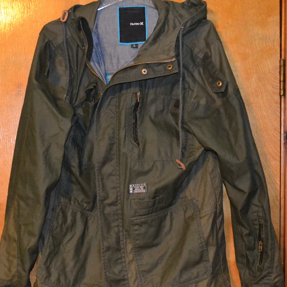Hurley Other - Hurley Military Style Jacket Size Large